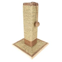 "19"""""""" Sisal Cat Scratching Post and Ball with Base"