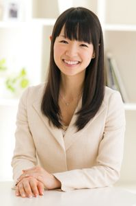 """Q&A with """"tidy"""" expert Marie Kondo. Japan's expert declutterer and professional cleaner Marie Kondo will help you tidy up once and for all with her inspirational step-by-step method and her """"once cleaned, never messy again"""" approach. You can add your questions for her up until midday on Weds 23 April…"""