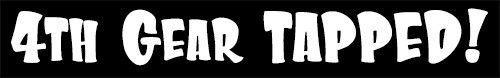 """4th Gear TAPPED!"" MX Dirt Bike Motocross, Decal sticker,decal sticker, 2 stroke #TheVinylShop"