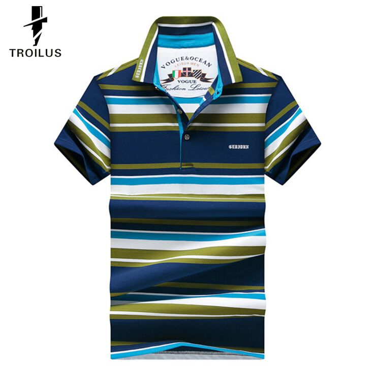 Find More Polo Information about Troilus Color Block Stripe Turn Down Collar Short Sleeve Polo Shirt For Men Slim Fit Casual Polo Tee Summer Casual Polo Shirts,High Quality t-shirts polo shirts,China polo t shirt for sale Suppliers, Cheap polo t-shirt for women from Troilus Flagship Store on Aliexpress.com