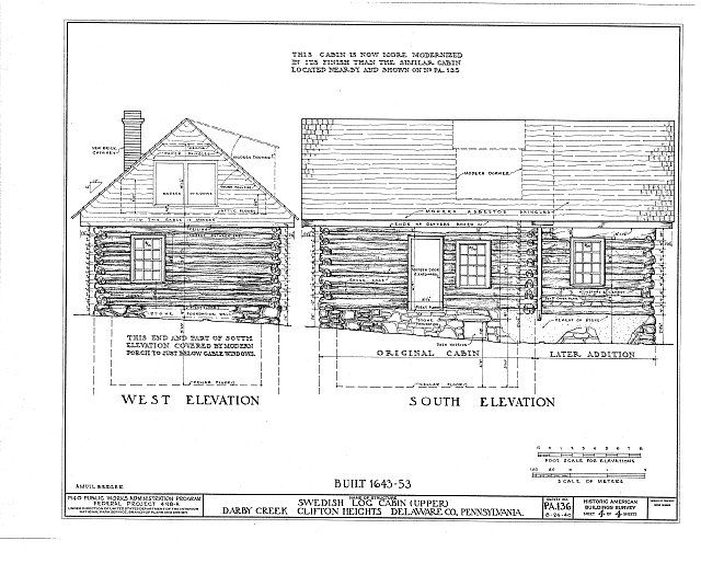 images about swedish log cabin  on, schematic