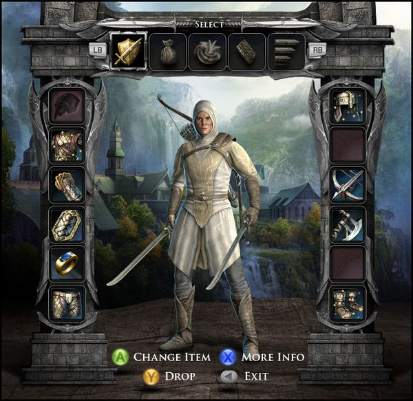 The Lord of the Rings - War in the North Game UI on Behance