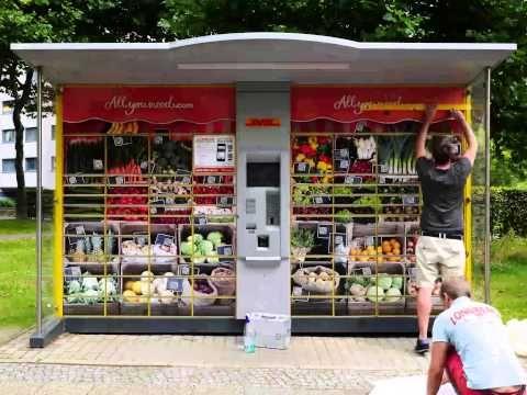 An Packstationen in #Berlin #Lebensmittel online bestellen und liefern lassen - mit Allyouneed.com