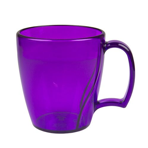 Purple Cocoa And Coffee Mug