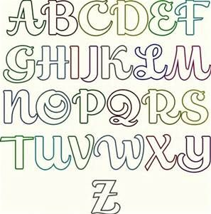 17 best images about letras on pinterest fonts alphabet for Estilos de letras