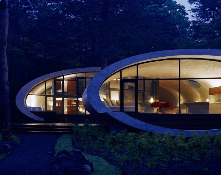 Arquitectura orgánica desarrollada en una especial casa de Japón