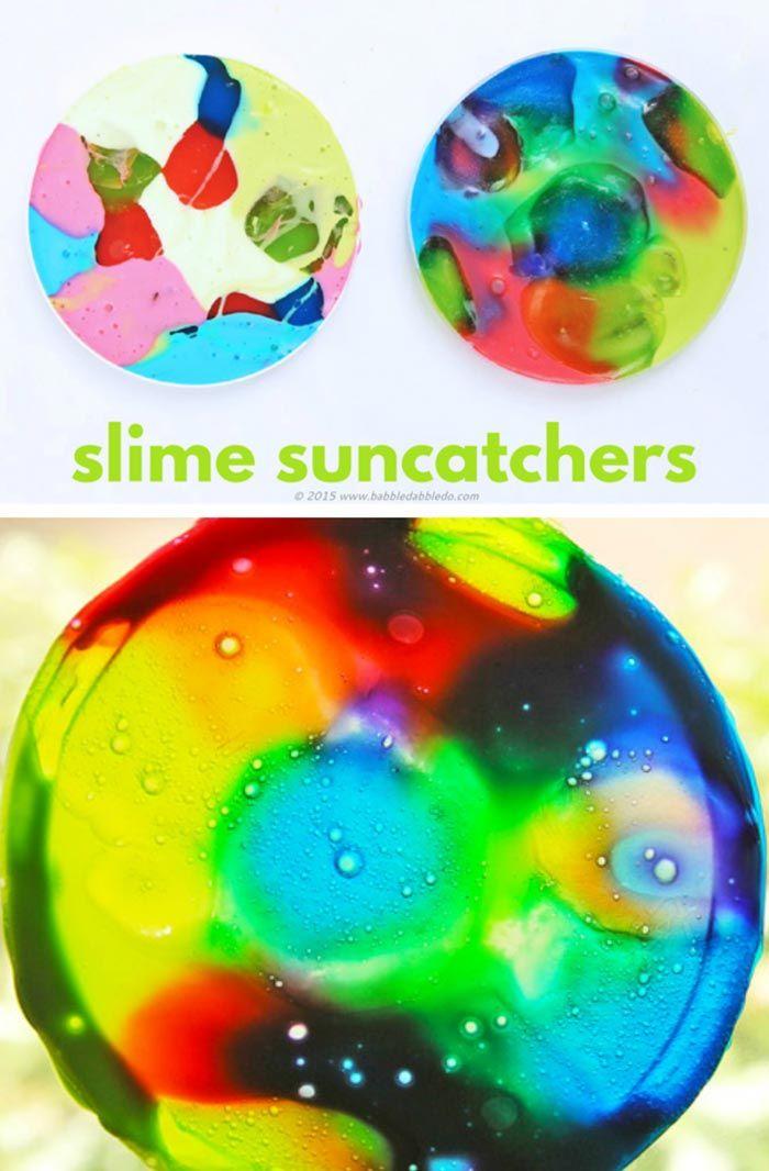 76 best stem gak or slime or oobleck images on pinterest art science for kids slime suncatchers ccuart Gallery