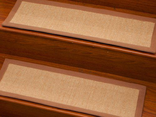 Best Acadia Stair Treads Set Of 13 Naturalarearugs Http Www 400 x 300