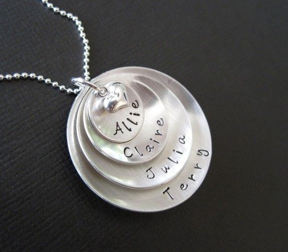 Love this mom necklace: Silver Necklaces, Gifts Ideas, Super Mom, Domes Sterling, Mothers Day Ideas, Sterling Silver, Mom Necklaces, Hands Stamps Jewelry, Hands Stamps Necklaces