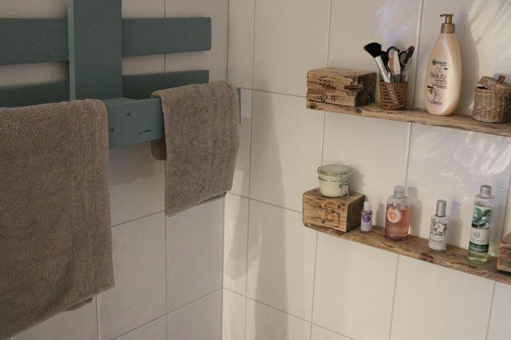Palettenmöbel kaufen-Handtuchhalter aus Paletten