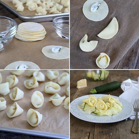 Fresh Gluten Free Tortellini. Just a few ingredients are all it takes to make it from scratch!