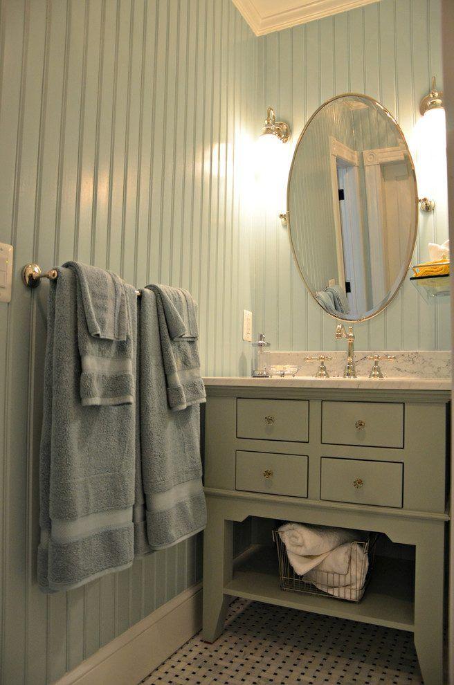 Image Result For Floor To Ceiling Beadboard In Bathroom