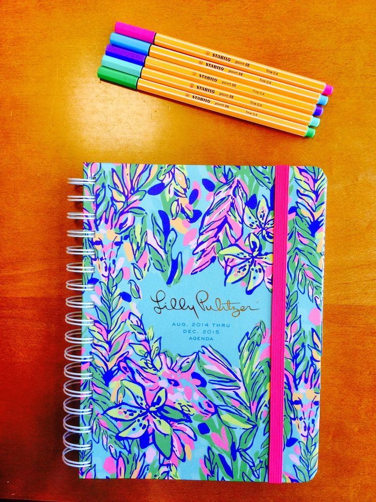 Livin' On Brightside: Lilly Pulitzer Large 2014-2015 Agenda Review