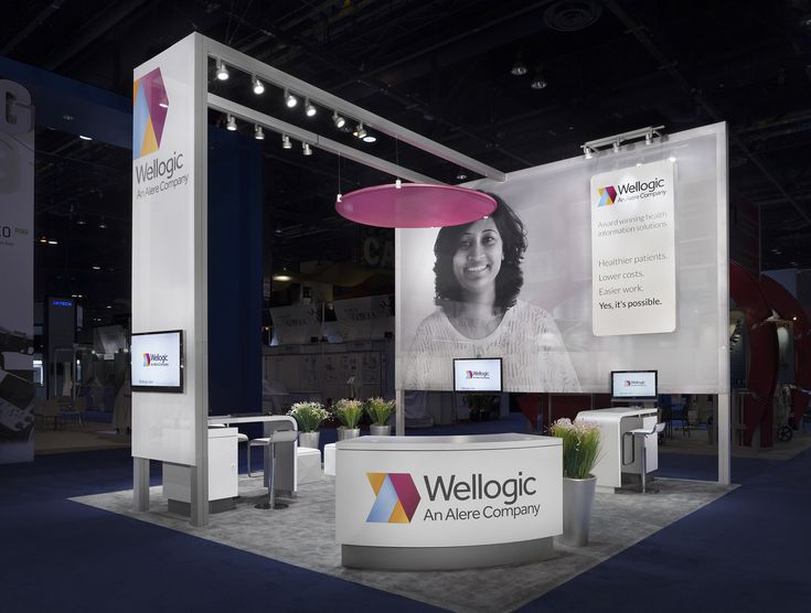 Alere Wellogic debuted at RSNA 2012 with a rental exhibit that gave them maximum flexibility and impact. They chose MG's Express 20 rental option for its ability to deliver a smart 20' × 20' rental exhibit that was both functional and beautiful.  MG Design: Trade Show Exhibits, Events, Environments, Experiences.