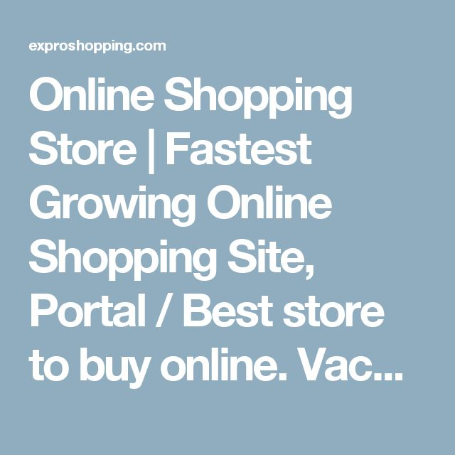 Online Shopping Store | Fastest Growing Online Shopping Site, Portal / Best store to buy online. Vacuum Cleaners | Expro shopping the leading store for all kinds of vacuum cleaners and other cleaning accessories in India