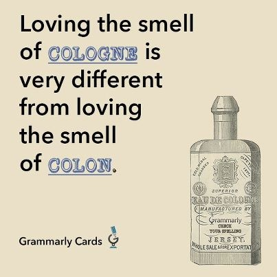 Remember to check your smelling--erg, spelling.