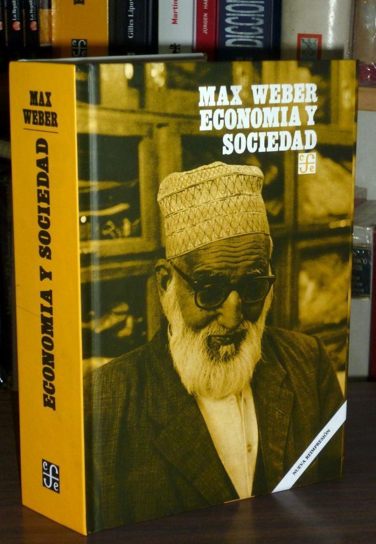 Economía y sociedad (Weber, Max)