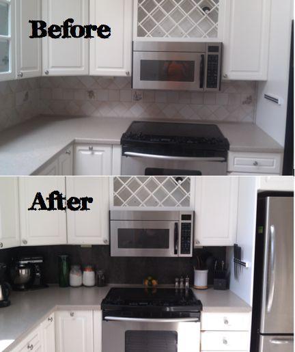 best 20+ vinyl tile backsplash ideas on pinterest | easy kitchen