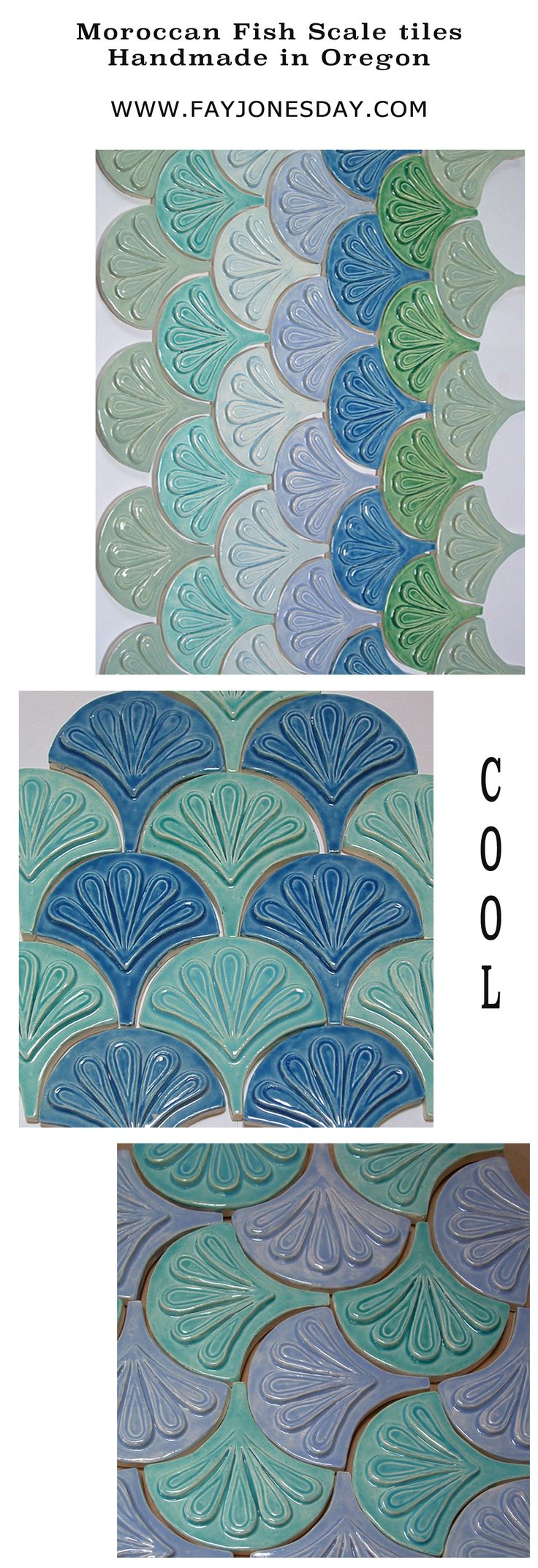 54 best Ceramics - Tiles images on Pinterest | Clay tiles, Tiles and ...