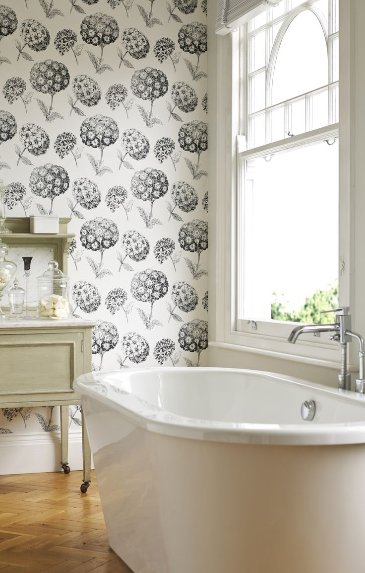 42 best wallpaper images on pinterest wallpaper home and spaces beautifully simple black and white bathroom