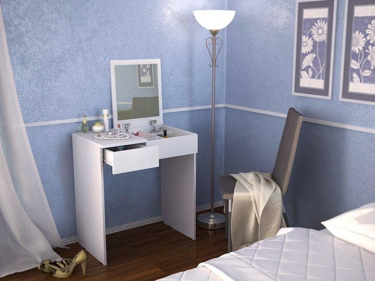 Туалетный столик с зеркалом Риано-1 Белый