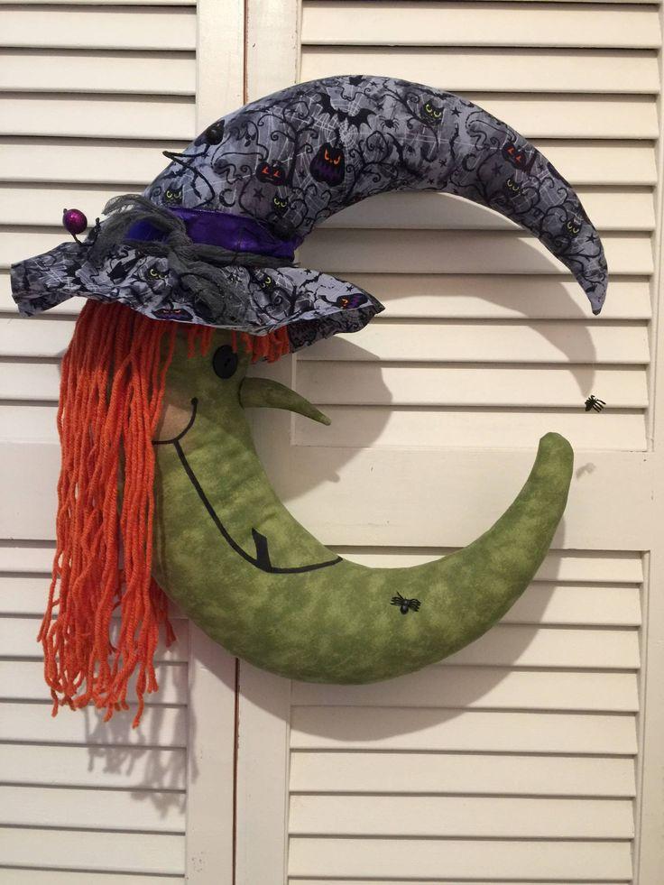 Guirnalda de Halloween bruja