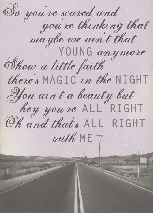 eye-candi.net: Some of My Favorite Lyrics by #Bruce #Springsteen I love this song!!!