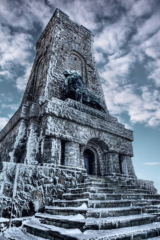 Shipka memorial #2 / 3x2 + HDR + travel [Bulgaria] + show the original
