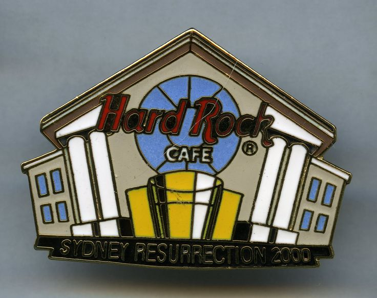 Sydney - Hard Rock Cafe Pin