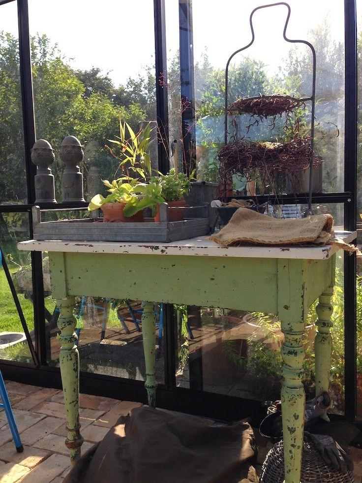 Countryliv: Loppefund til drivhuset og nye træer i haven