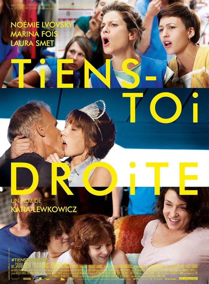 Tiens-toi droite est un film de Katia Lewkowicz avec Marina Foïs, Noémie Lvovsky. Synopsis : Louise, Sam, Lili. Trois femmes qui ne se connaissent pas mais dont la volonté farouche d'évolution va les faire se rencontrer, se rejoindre, se juxta