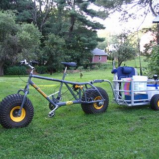 SURF FISHING CART / BIKE TRAILER