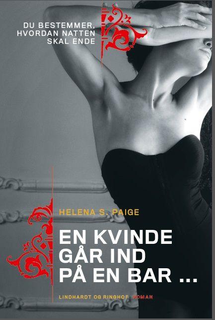 A Girl Walks into a Bar - choose-your-own-destiny erotic novel. Danish cover.