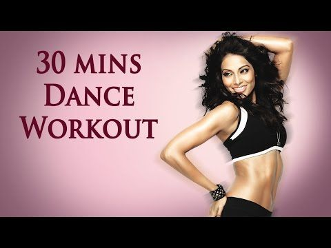30 Min Fat Burning Cardio Workout - Bipasha Basu Unleash 'Full Routine' - Full Body Workout - YouTube