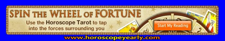 Spin the horoscope wheel of fortune - This reading unites both Tarot & Astrology to offer insight and guidance around maintaining stability and balance. Learn More By Clicking Here: http://www.horoscopeyearly.com/astrology-blend-science-art/