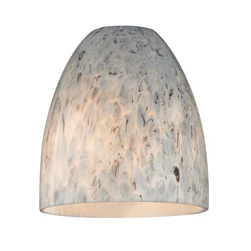 Design classics lighting art glass bell shade lipless with 1 5 8 · mini pendant lightspendant