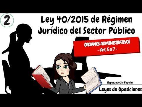⚡️ Ley 40/2015-2 ÓRGANOS ADMINISTRATIVOS * OPOSICIONES 2017 ADMINISTRATIVO, GUARDIA CIVIL, Instituciones Penitenciarias, JUSTICIA...  #oposiciones2017 #oposicionesjusticia #oposicionesiipp #oposicionesguardiacivil #oposicionesadministrativo #oposicionesAGE https://youtube.com/watch?v=DHFRvDtclsQ
