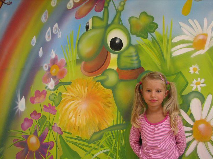 www.elakaras.eu dětské pokoje, malba na stěnu