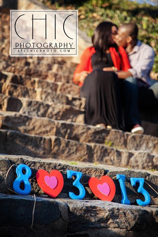 African-American Atlanta Engagement Photography