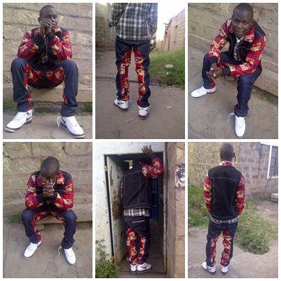 african denim street wear suit