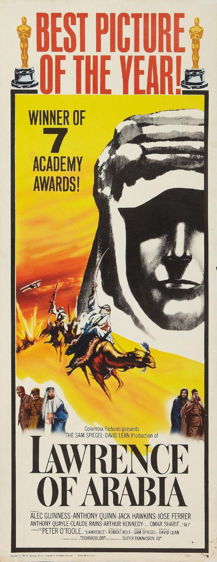 """Lawrence of Arabia"" (1962). Country: United Kingdom. Director: David Lean."