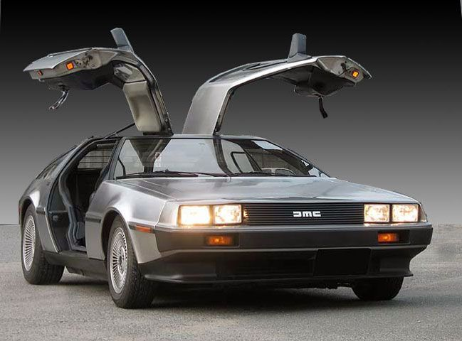 DeLorean DMC-12 where we're going we don't need roads