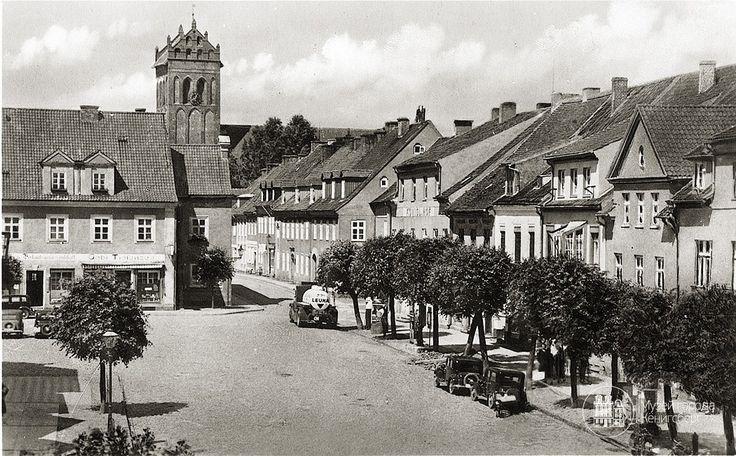 Гердауен – Железнодорожный. Рыночная площадь и кирха. Фото ок. 1930 г/