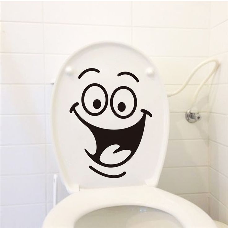 big mouth toilet stickers wall decorations 342. diy vinyl adesivos de paredes home decal mual art waterproof posters paper 7.0 -- Locate the offer simply by clicking the VISIT button