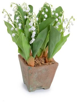 Lily of the Valley eclectic-artificial-flowers