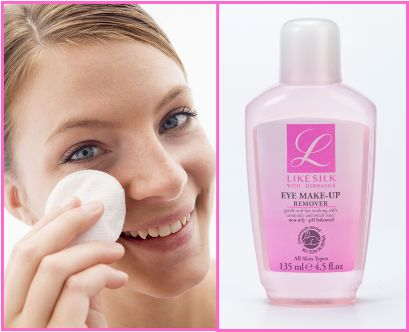 Like Silk Eye Make-Up Remover is gentle and fast acting so you can enjoy your beauty sleep in no time <3