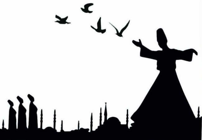 ✿ ❤ Mevlevilik, Mevlânâ Celâleddin Rûmi adına, oğlu Sultan Veled tarafından kurulan tarikatın adı. Mevlânâ Celâleddin Rûmi (1207-1274) dostlarının katıldığı özel toplantılar düzenler, tasavvufi ve dini sohbetler yapar, şiir söyler, zikrederek sema ederdi. Zamanla bir tören niteliği kazanan bu toplantılar belli kurallara, belli görüş ve düşünce ilkelerine bağlandı. Toplantılarda ney, kudüm ve benzeri çalgıların çalındığı zikirler, törenler daha derli toplu ve ölçülü yapılmaya başlandı.