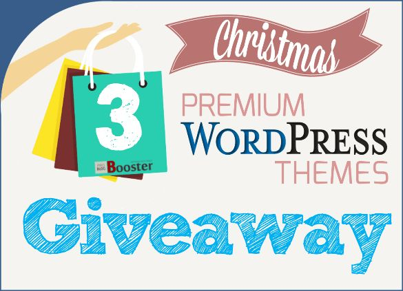 Giveaway! Giveaway!! Giveaway!!! A Big Christmas Giveaway at the end of the year 2016: Free Premium Wordpress Themes - presenting Christmas gifts to the lucky one. TemplateMonster has decided to give out three of their premium templates for free. Isn't it one of the great giveaways for you.?