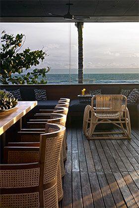 Beautiful open living areas at Arnalaya Beach House.