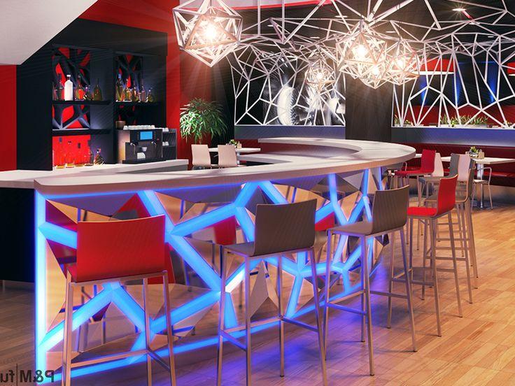 16- Led verlichting bar : Horeca meubilair, horeca interieur en horeca interieurdesign